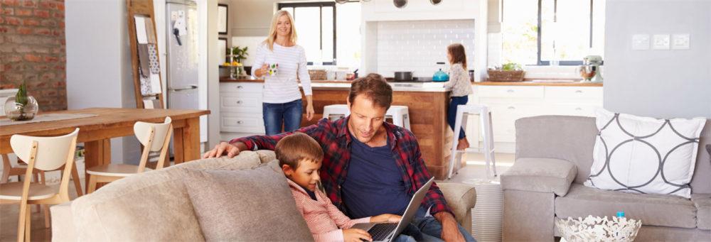 Duurzaam wonen met het gezin. Bloemendaal zet stappen