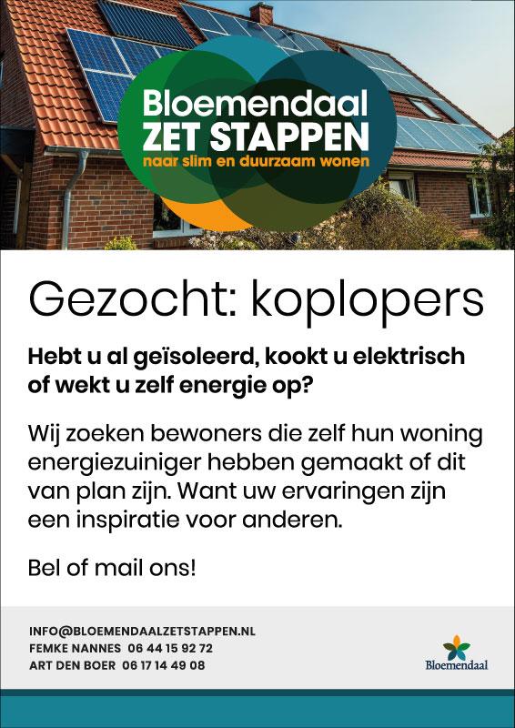 Bloemendaal-zet-stappen_koplopers-gezocht_poster-A3